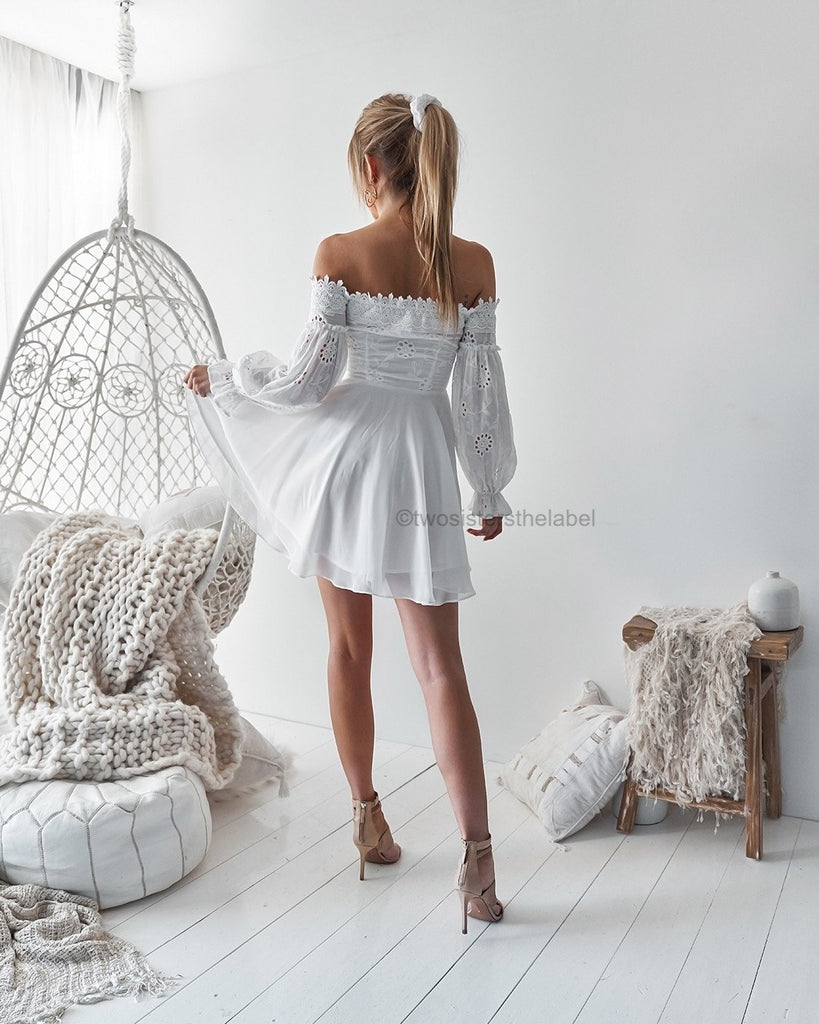 Pre-Order: Emma Dress - White