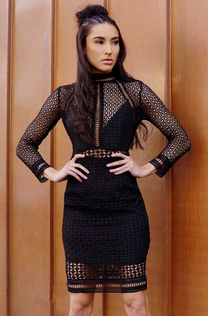 Emmanuella Dress - Black
