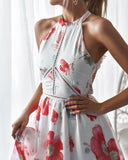 Georgie Dress - White Floral