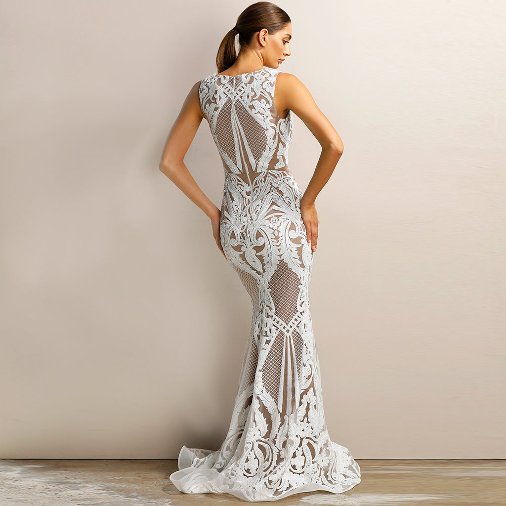 Made To Order: Giselle Sequin Gown by Jadore