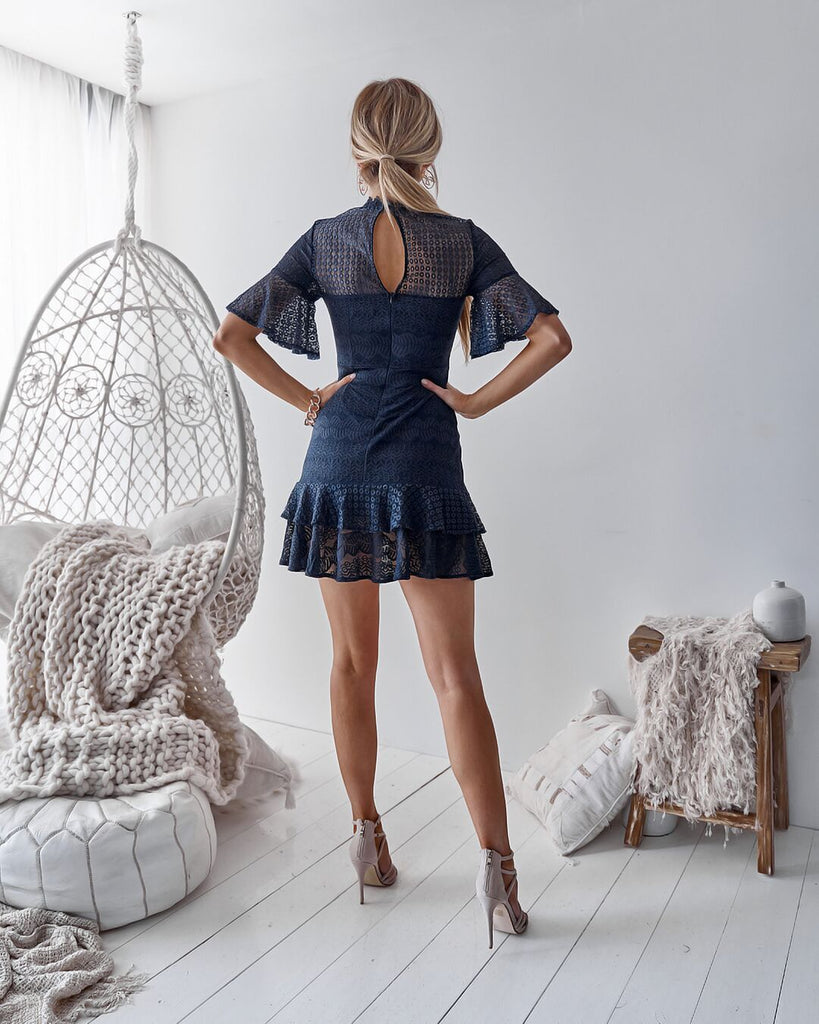 Hamptons Dress - Navy
