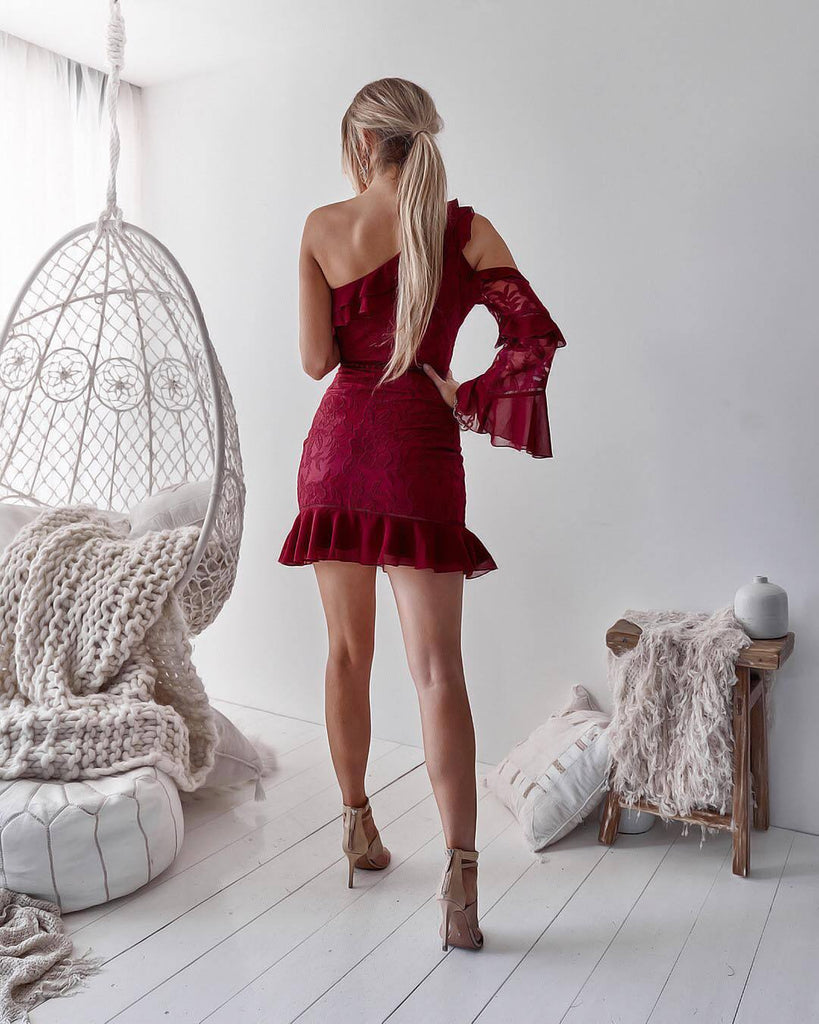 Pre-Order: Indiana Dress - Deep Red