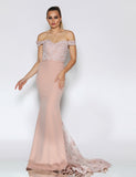 Made To Order: Isadora Lace Gown by Jadore