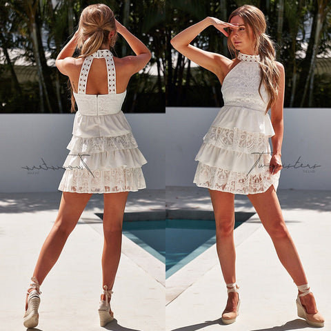 Shay Mini Dress - White