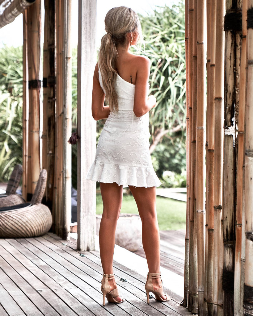 Janie Dress - White