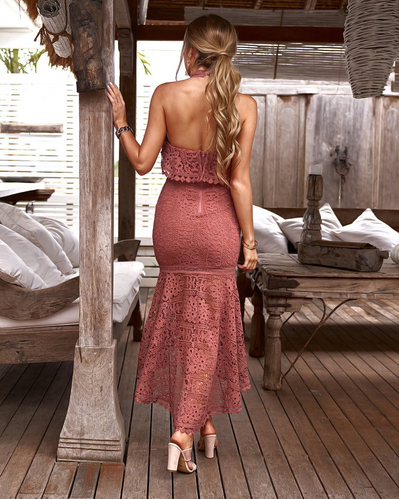 Janelle Dress - Mauve