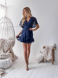 Pre-Order: Kiera Dress - Navy