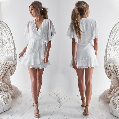 Lauren Dress - White
