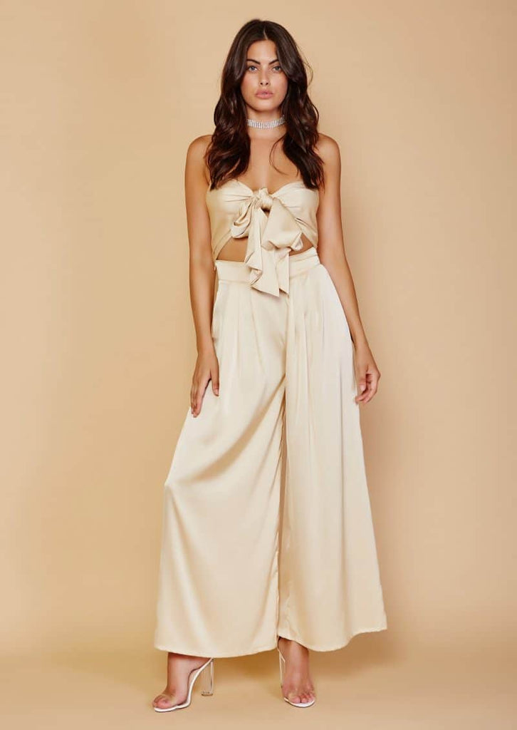 La Vida Two Piece Set - Champagne