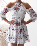 Laura Dress - White Floral