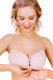 Lace Up Bra - Cleavage Enhancing Stick On Bra