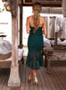 Matilda Dress - Emerald Green
