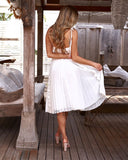 Maia Dress - White