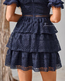 Melinda Dress - Navy