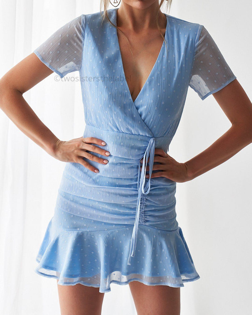 Marina Dress - Baby Blue