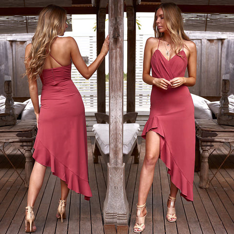 Morgan Dress - Pink