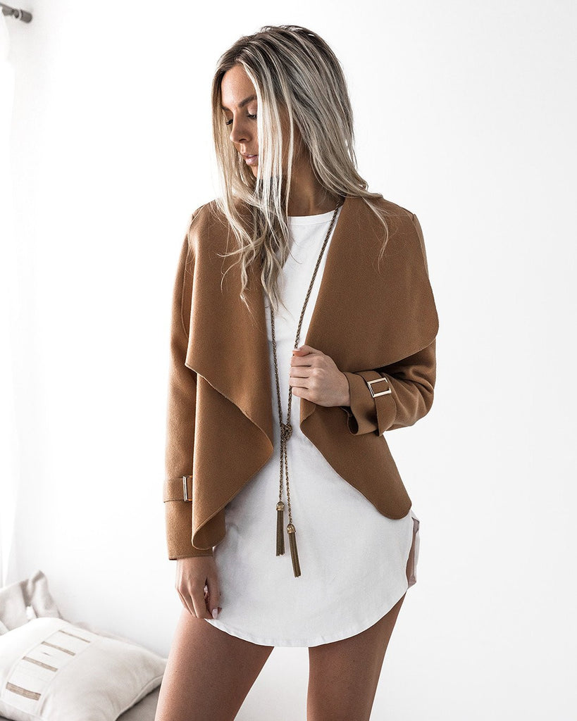Moscow Coat - Camel