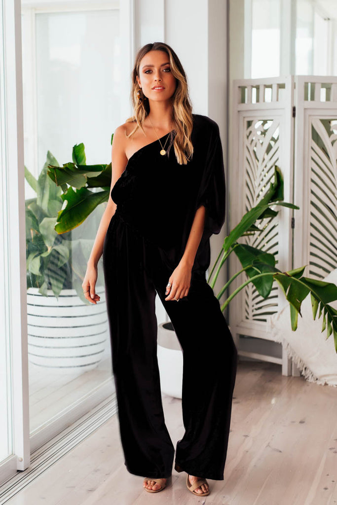 Neptune Jumpsuit - Black