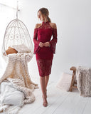Nayla Dress - Red