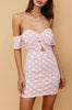 Noah Dress - Pink Polka Dot