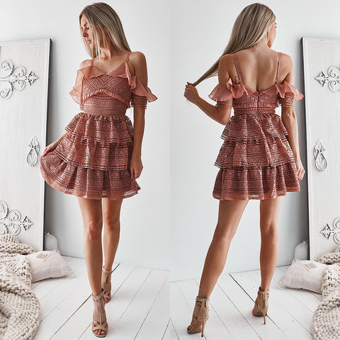 Marilyn Dress - Mauve