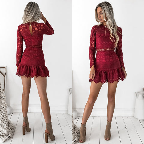 In Your Dreams Playsuit - Maroon