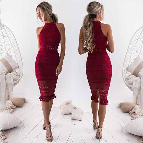 Loving You Is Easy Maxi Dress - Maroon