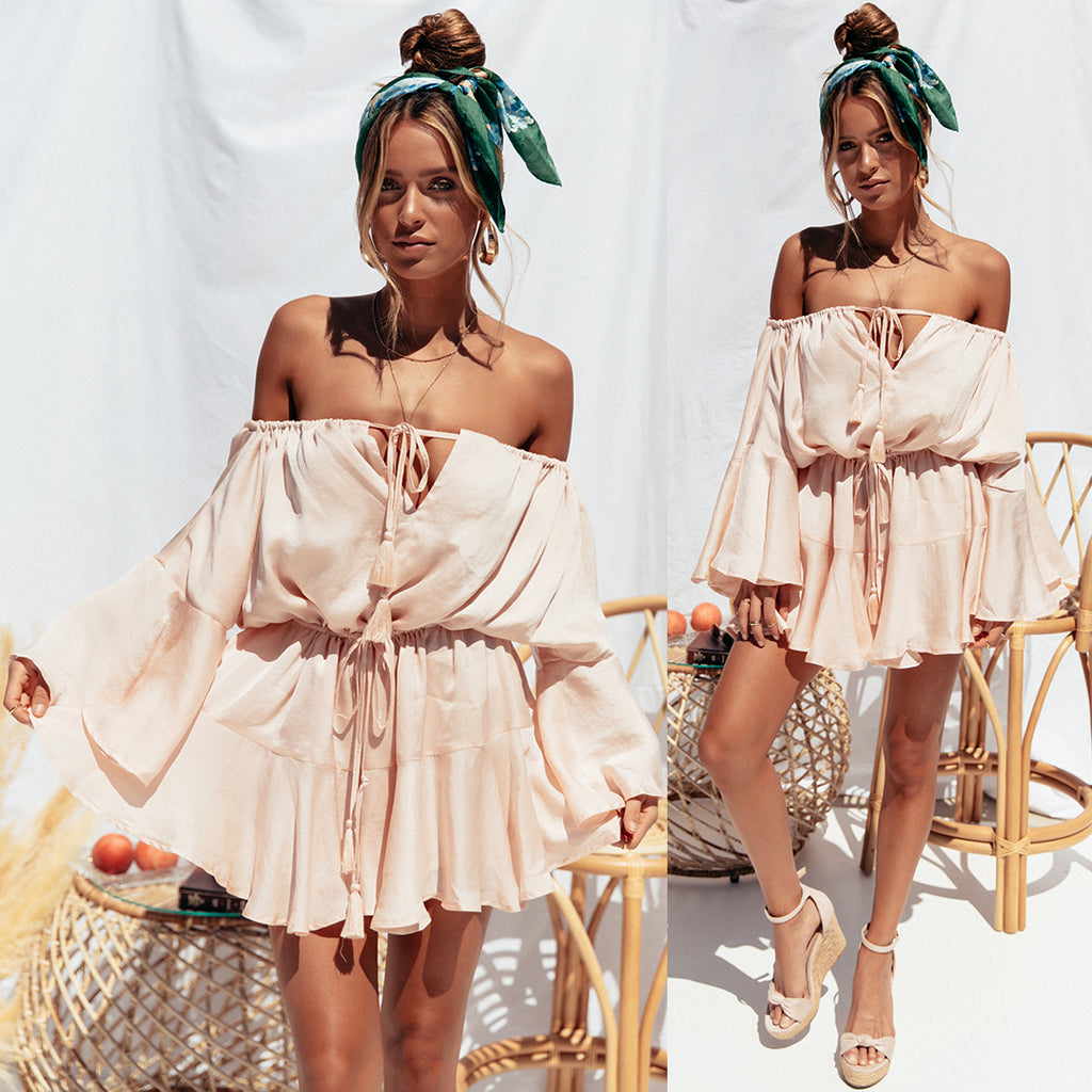 Roam Playsuit - Blush