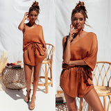 Astrid Two Piece Set - Terracotta