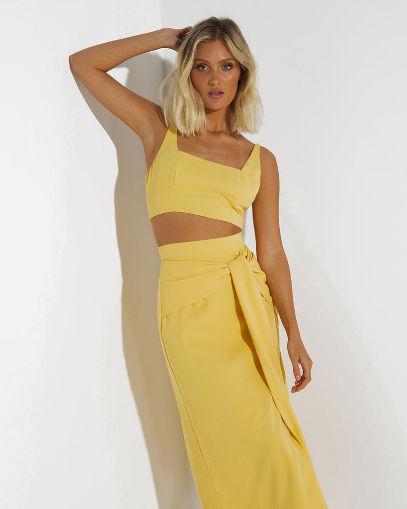 Neo Two Piece Dress Set - Mango