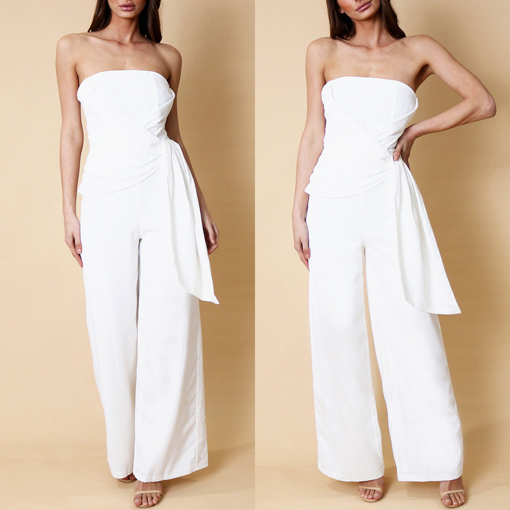 Saski Jumpsuit - White