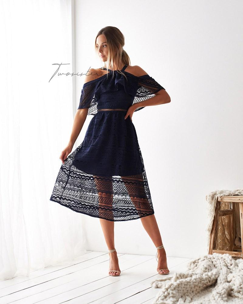 Sheffield Dress - Navy