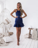 Shona Dress - Navy
