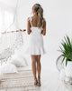 Shona Dress - White