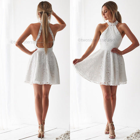 Tiana Dress - White
