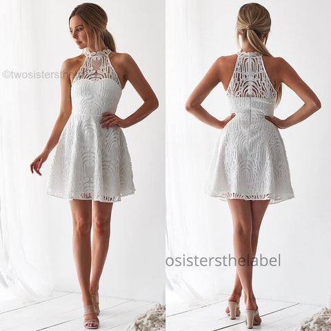 Nora Dress - White
