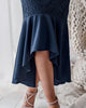 Tameka Dress - Navy