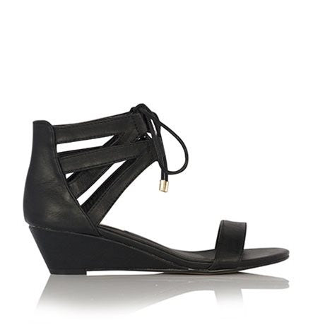 Marble Black Wedge by Billini