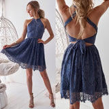 Tory Dress - Steel Blue