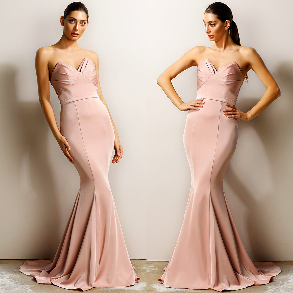 Valentina Gown by Jadore - Dusty Pink