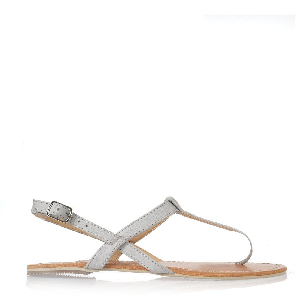 Harlow Light Grey Sandals by Billini