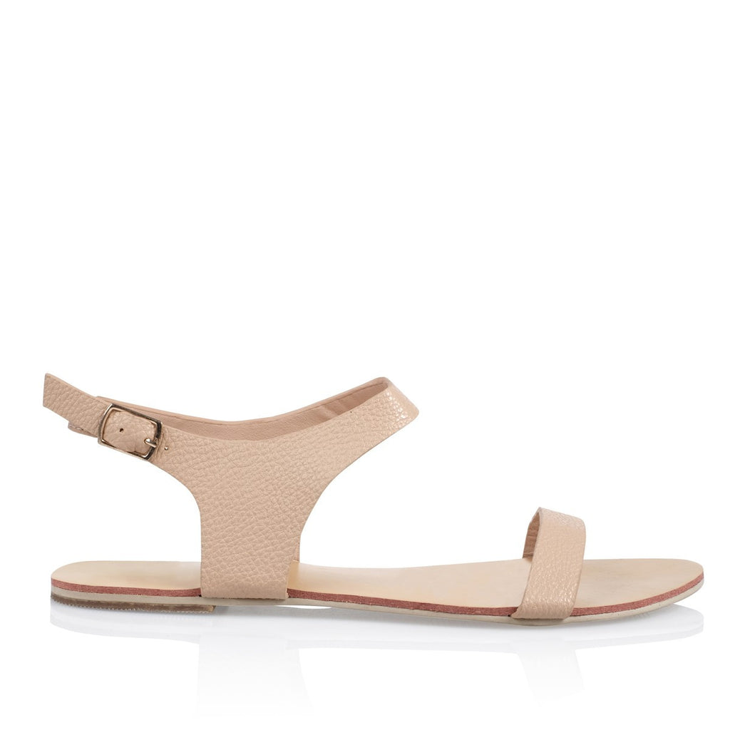 Marina Nude Pebble Sandals by Billini