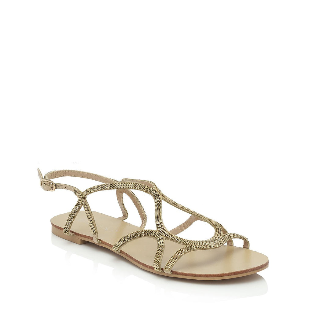 Santorini Gold Sandals by Billini