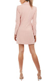Yvonne Blazer Dress by Georgy Collection - Pink