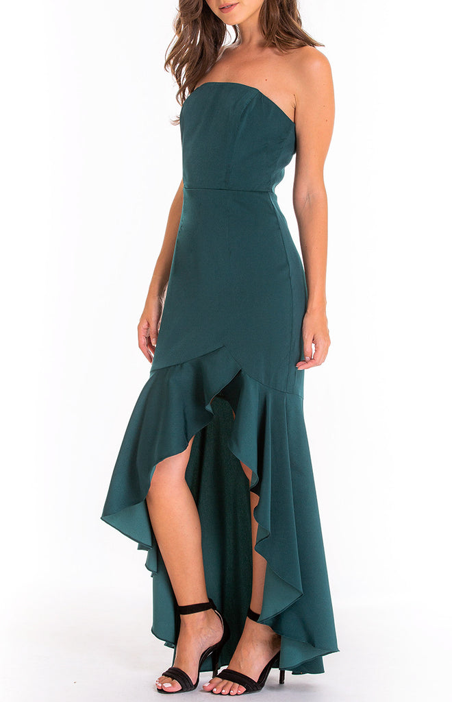 Eden Dress - Emerald Green