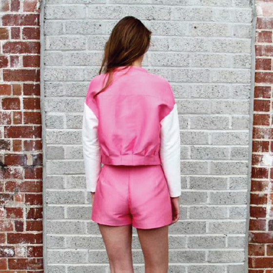 Brooklyn Jacket - Pink