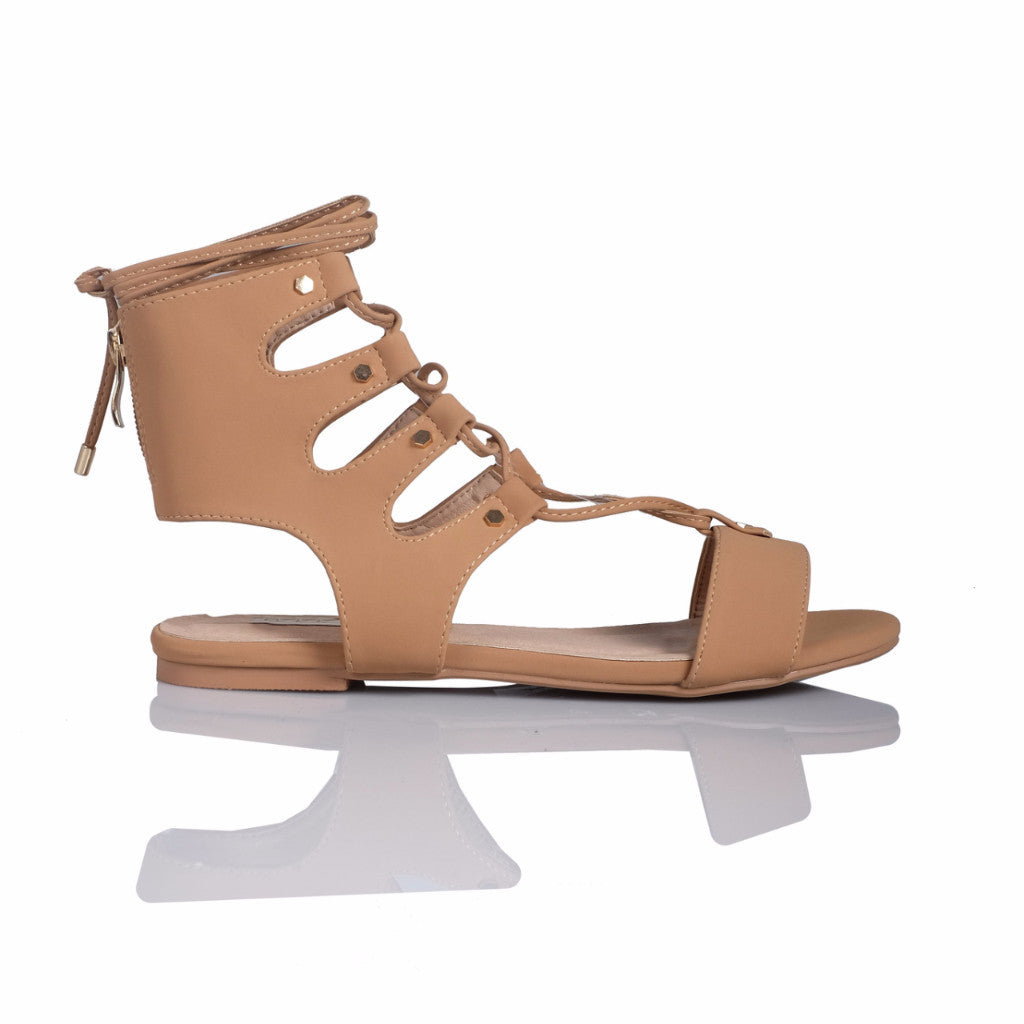 Dash Camel Nubuck Sandals by Billini