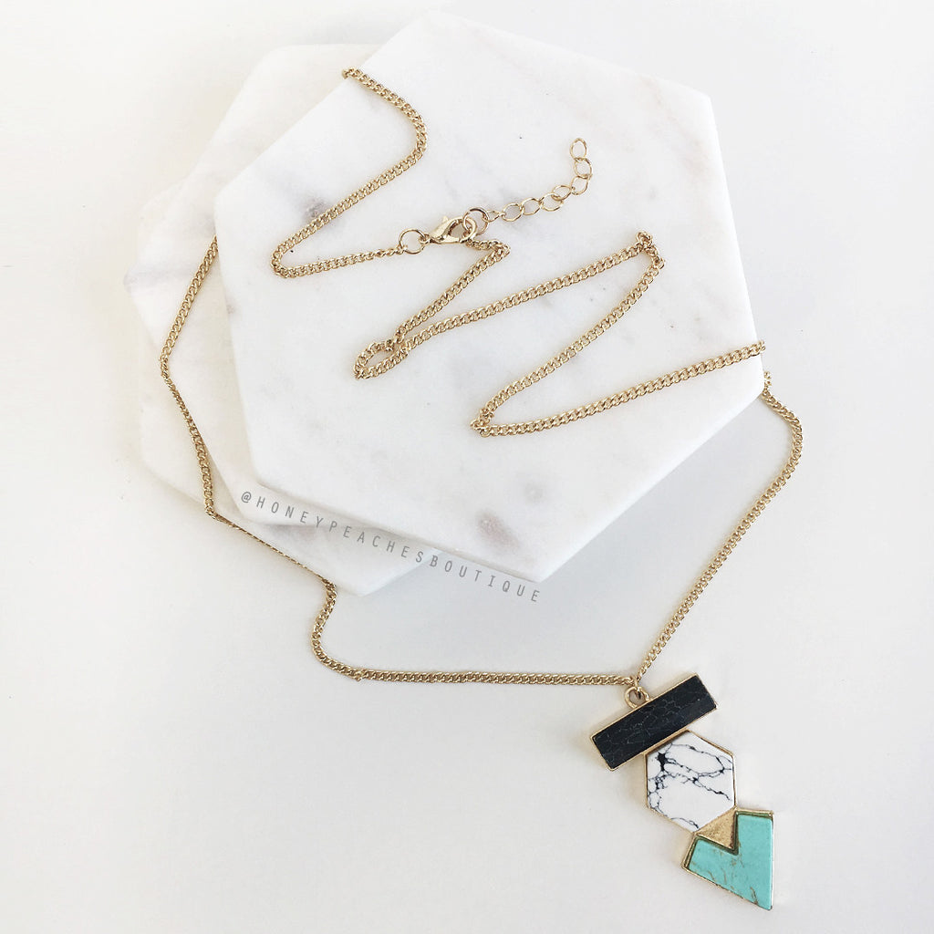 Kelsie Necklace - Gold