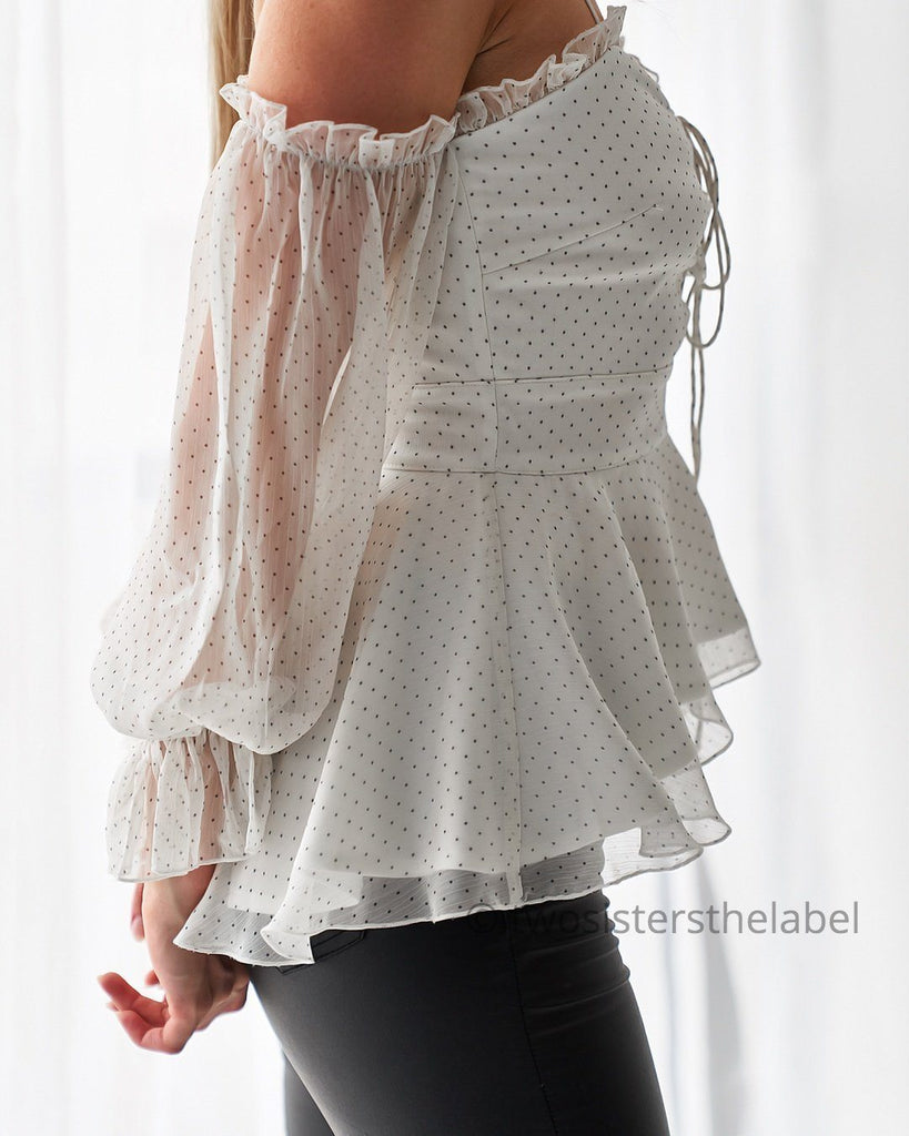 Milly Top - White