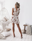 Misty Dress - Cream Floral